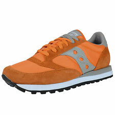 SAUCONY JAZZ ORIGINAL RETRO RUNNING SNEAKERS ORANGE LIGHT GREY 2044-298