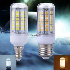 Ultra Bright E27 220V 5W 69LED Cool/Warm White 5050 SMD Corn Bulb Light Lamp LM