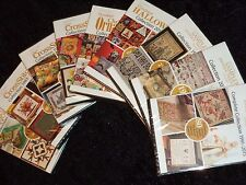 Sampler & Antique Needlework, THE QUILTER'S WORLD, & Just Cross Stitch DVDs Pick
