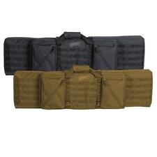 """Voodoo Tactical 20-1222 45"""" Frontline Double-Rifle Lockable Padded Weapons Case"""