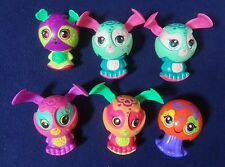 LOT OF 6 ZOOBLES TOYS
