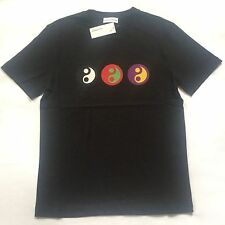 NWT Gosha Rubchinskiy Men's Black Yin Yang Print T-Shirt 2017 DS L XL AUTHENTIC