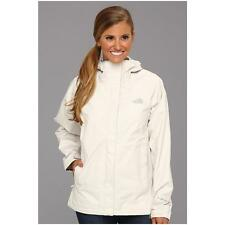 North Face Women's Venture white Rain Jacket Large