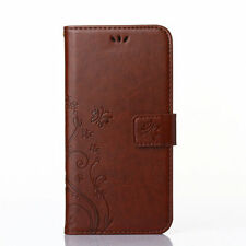 Flower Pattern PU Leather Wallet Case Cover For Samsung Galaxy J1 Ace J2 3 5