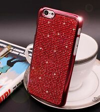 Bling Swarovski Element Crystal Diamond Red Soft case For iphone 6 6s {zg95