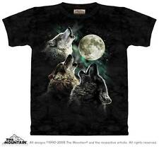 THREE WOLF MOON ADULT T-SHIRT THE MOUNTAIN