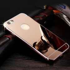 Luxury Aluminum Ultra-Thin Rosegold Mirror Metal Case For iPhone 6s Plus{zh136