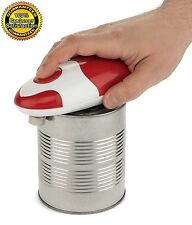 Can Opener Automatic Electric Red Edge Soft Smooth Bartelli Star Chef