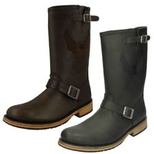 Mens Harley-Davidson Leather Motorcycle Biker Style Boots - Clint