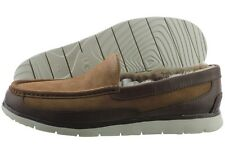 UGG Fascot 1014478-CHE Chestnut Suede Leather Slipper Shoes Medium (D, M) Mens