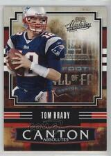 2008 Playoff Absolute Memorabilia Canton Absolutes #CA-6 Tom Brady Football Card