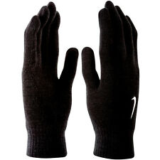 NEW Nike Basic Mens Gloves - Warm Winter Knitted Swoosh Black - Size S/M L/XL