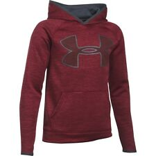 Under Armour Boy's UA Storm Armour Twist Big Logo Hoodie Medium