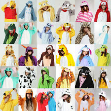 2017 Unisex Adult Pajamas Kigurumi Cosplay Costume Animal Onesie Sleepwear Suit