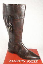 Marco Tozzi Boots, Ankle Boots, Boots Real Leather Brown new
