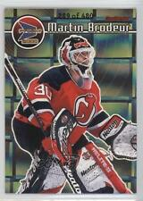 1999-00 Pacific Prism Holographic Gold #79 Martin Brodeur New Jersey Devils Card