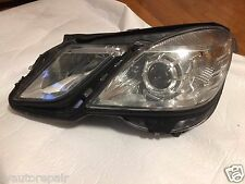 2010 2011 2012 2013 MERCEDES BENZ E CLASS E350 E550 W212 SEDAN LEFT HEADLIGHT