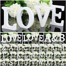 Home Bar Shop Wedding Birthday Party Decor DIY Wooden Stand Love Alphabet Letter