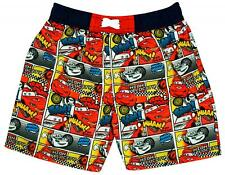 Boys Disney Pixar Cars Lightning McQueen Comic Swim Shorts 3 to 8 Years