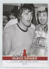 2008 Upper Deck Montreal Canadiens Centennial Set #268 Serge Savard Hockey Card