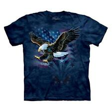 """EAGLE """"DECLARATION"""" ADULT T-SHIRT THE MOUNTAIN"""