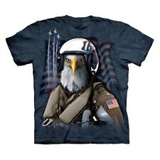 """EAGLE """"COMBAT STRYKER"""" ADULT T-SHIRT THE MOUNTAIN"""