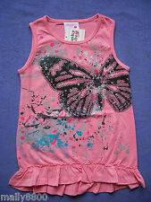 """Funky Babe - Girls - Top - Tshirt - """"BUTTERFLY"""" - Select Size"""