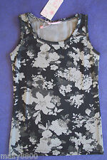 Funky Babe - Girls - Flower - Singlet Top -  Tshirt  - Select Size