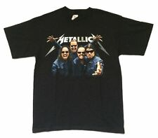 Metallica Shades Band Pic Death Magnetic Tour Black T Shirt New Official Phoenix