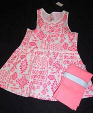 GIRLS JUSTICE  GATHERED WAIST TOP SIZE 10 REGULAR & JUSTICE OR TCP LEGGINGS NEW