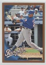 2010 Topps Wal-Mart Value Packs Copper #433 Julio Borbon Texas Rangers Card
