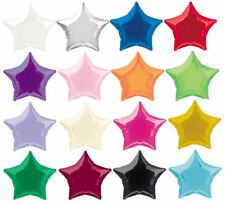 "20"" Foil Star Balloon - 16 Colours To Choose - Helium Quality Party Wedding"