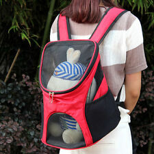 Dog Backpack Shoulder Bag Cat Mesh Head Travel Carrier Pet bag Front Tote Pet