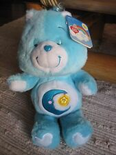 Care Bears BEDTIME BEAR NWT 13 in Plush 2002 20th Anniversary - New w/Tags