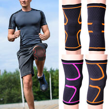 Elastic Knee Compression Sleeve Support Brace Sports Joint Pain Arthritis Use AP