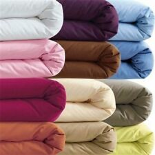 "400-Thread-Count 6"" Extra Deep Pocket 1PC Soft Fitted Sheet Solid 100% Cotton."