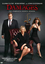 The Damages:The Complete Fourth Season (DVD, 2012, 3-Disc Set)Region 1- Like New