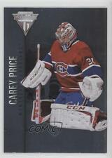 2013-14 Panini Titanium #13 Carey Price Montreal Canadiens Hockey Card