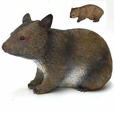 Wombat with Baby in Pouch Garden Statue Figurine Ornament Sculpture BIG