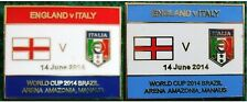 England v Italy World Cup 2014 Arena Amazona, Manaus, Brazil Badge