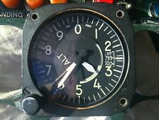 Aircraft Altimeter,Aerosonic P/N A80-AAU-7A/A-101, 0-80,000ft, Hard to Find