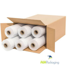 6 Rolls Clear 300mtr Pallet Wrap Strong Stretch Shrink Wrap Pallet Packing Film