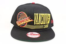 Vancouver Canucks Retro Look Black Red Yellow NHL New Era 9Fifty Snapback Hat