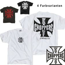 West Coast Choppers men's T-Shirt Iron/Original Cross Tee - new collection
