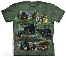 BEAR COLLAGE ADULT T-SHIRT THE MOUNTAIN