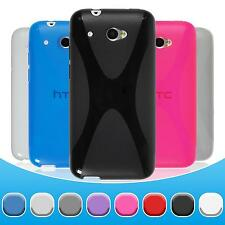 Silicone Case for HTC Desire 601 X-Style  + protective foils