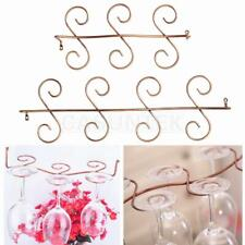 Stainless Steel Wine Glass Rack Goblet Cup Hanging Rack Stemware Drying Shelf