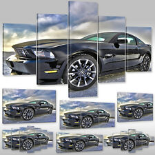 Canvas Picture Canvas Wall Tattoo Art Print Car American Ford Mustang Cobra-500c
