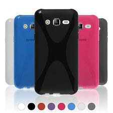Silicone Case for Samsung Galaxy J5 (2015 - J500) X-Style  + protective foils