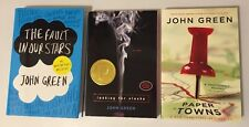 John Green Set by John Green Fault In Our Stars Looking For Alaska Paper Towns